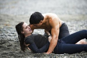 Bella & Jacob on the beach
