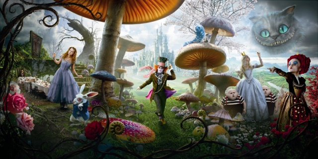 """Alice in Wonderland"" - Down the 3D rabbit hole"