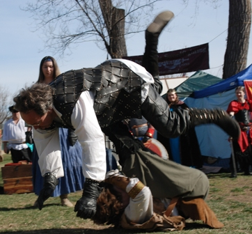 Colorado Medieval Festival in Evans, Colorado