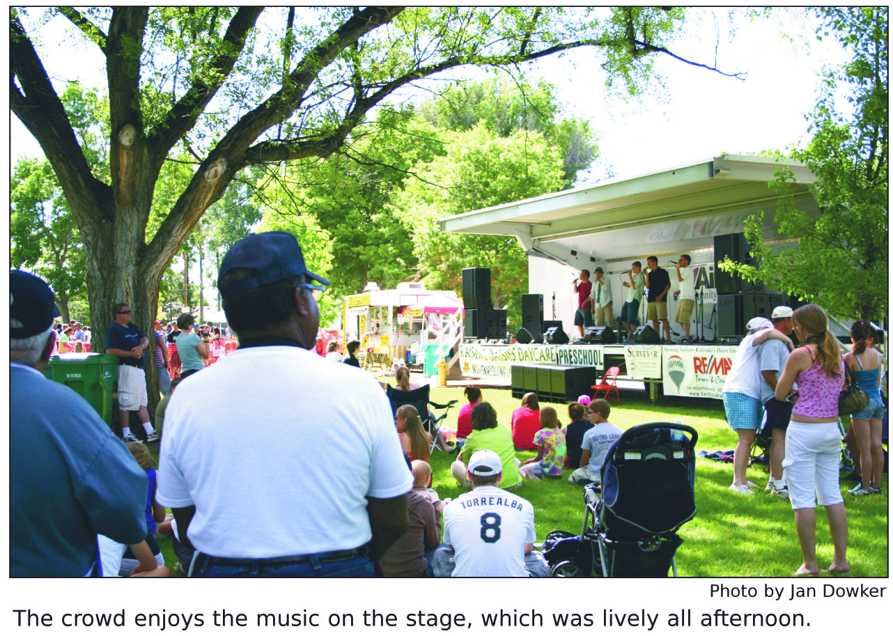 Berthoud Day Concert in Berthoud, Colorado