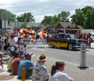Berthoud Day Parade, Berthoud, Colorado