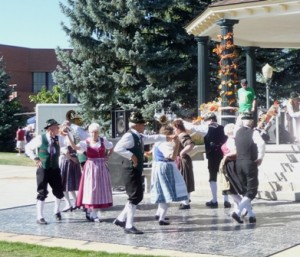 Volkstanzgruppe Dancers at Oktoberfest in Greeley, Colorado