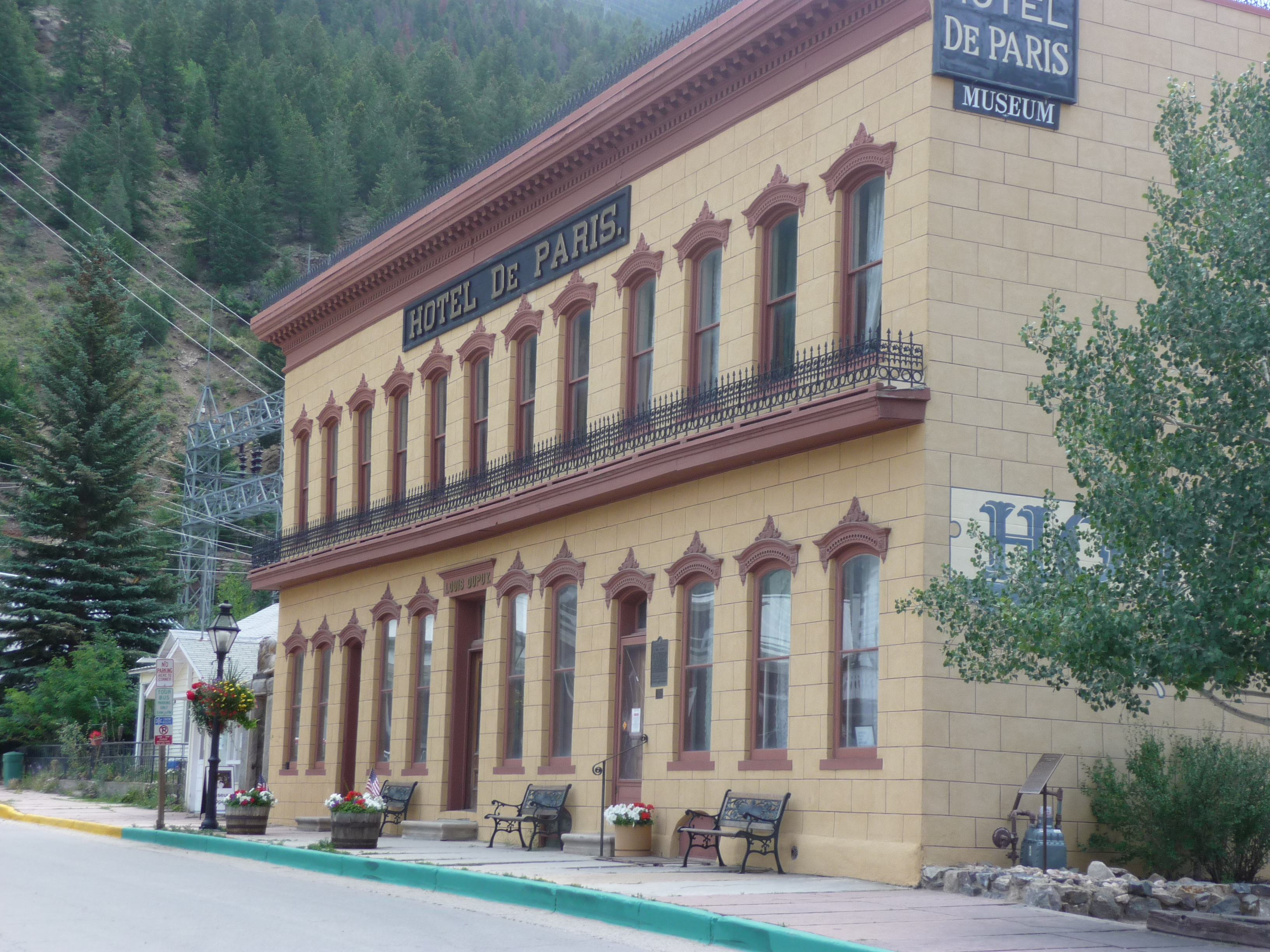 The Hotel de Paris in Georgetown, Colorado