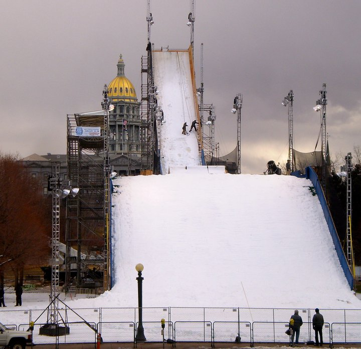 Ski Jump at Denver Big Air Event in 2011