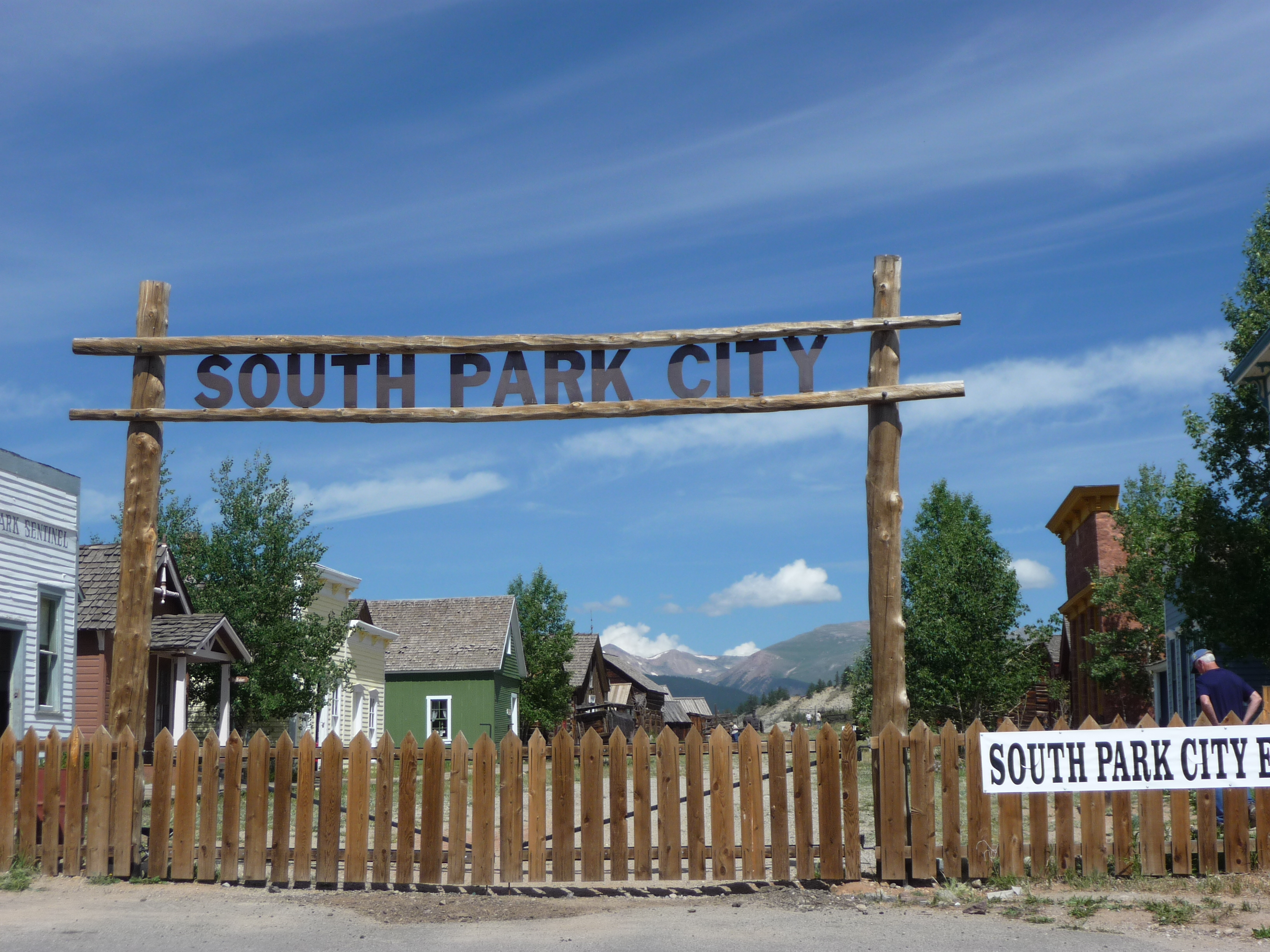 South park city fairplay colorado for Park towne