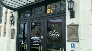 Greeley History Museum from the outside.