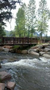 Estes Park, Colorado bridge