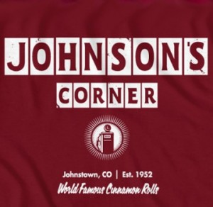 Johnsons Corner t-shirt