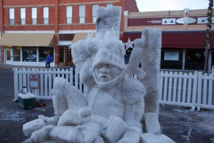 Starry Knight Loveland Snow Sculpture