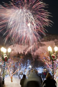 Aspen Fireworks Photo by Dan Bayer