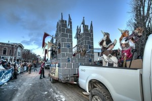 Ullr Festival parade in Breckenridge