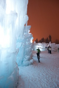 Ice Castles at Silverthorne gazing