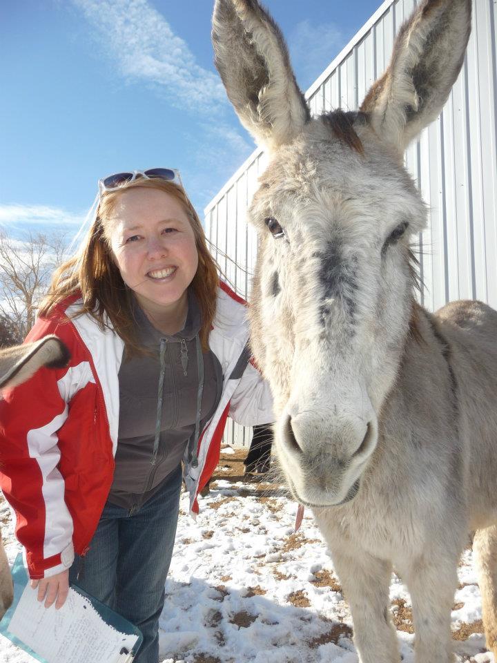 Heidi & donkey