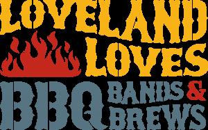 Loveland Loves BBQ LOGO