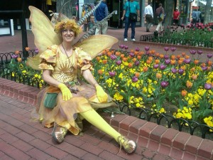 Tulip Fairy Parade Downtown Boulder