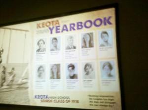 keota year book 1918