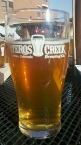 Pint of Pateros Creek Beer