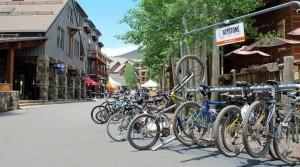 Keystone Reosrt River Run bike shot