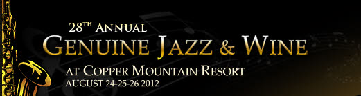 Genuine Jazz & Wine logo