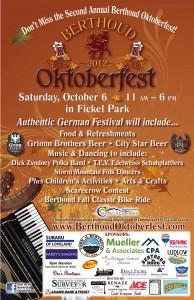 Berthoud Oktoberfest poster