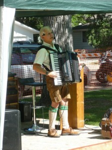 Steve Rock accordion