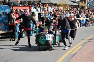 Coffin Race in Manitou Springs