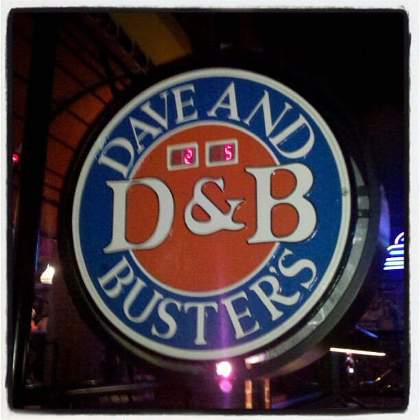 A 40th Birthday Party At Dave & Buster's