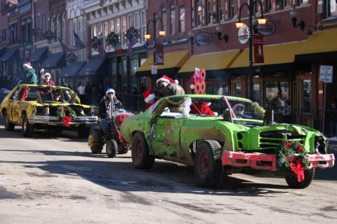 Featured Festival: Gold Camp Christmas in Cripple Creek & Victor, Colorado