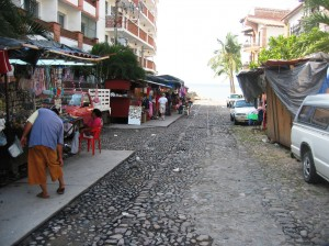 back streets of Puerto Vallarta