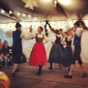 chalet dancers at Denver Christkindl Market