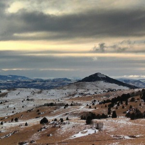 view driving into Cripple Creek Colorado photo by HeidiTown