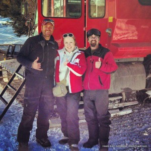Top of the Rockies guides Ty & Oz HeidiTown