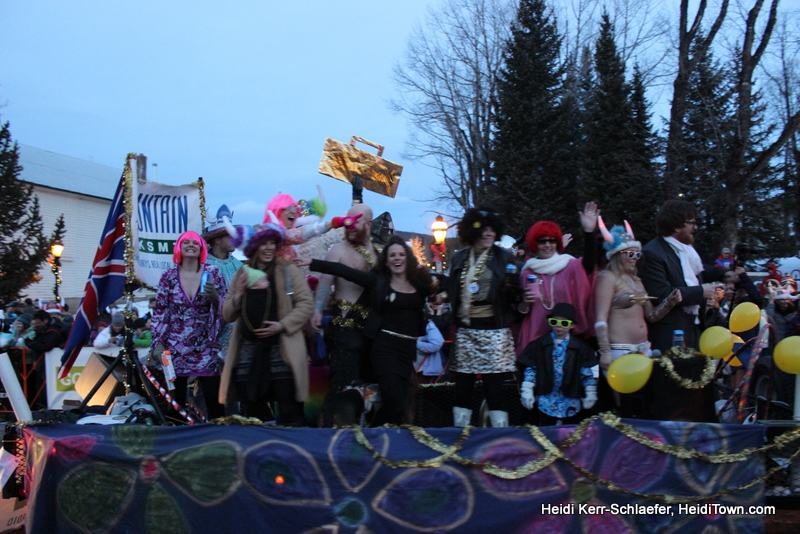 filled float Ullr parade 2013 Heiditown
