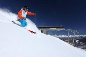 Awesome downhill skier at Breckenridge Resort. Courtesy photo.
