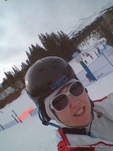 Looking like a dork at Breckenridge Ski & Ride School. HeidiTown.com