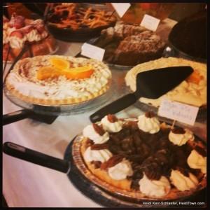 dessert buffet at The Fat Cat HeidiTown.com