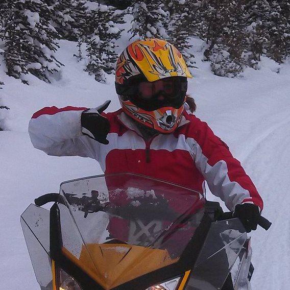 A snowmobile adventure in Grand Lake, Colorado