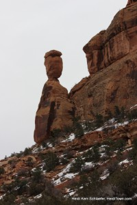 Balancing Rock at CO National Monument March 2013 HeidiTown