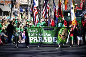 St. Pats Fort Collins parade picture