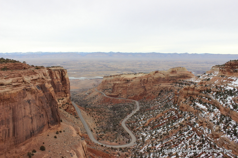The view from the Mesa at Colorado National Monument March 2013 HeidiTown