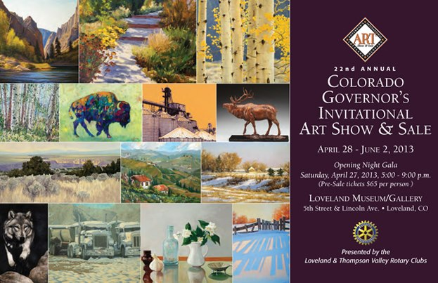 Gov Art Show Invitation