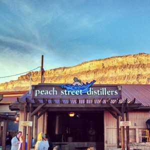 Peach Street Distillers in palisade, Colorado. HeidiTown.com