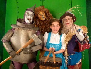 Wizard of Oz, Boulder's Dinner Theater Summer 2013