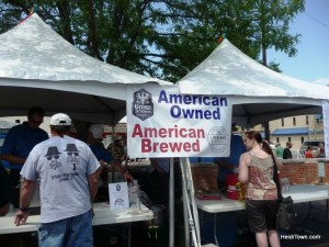 Beer vendors at Loveland Loves BBQ Bands and Brews HeidiTown