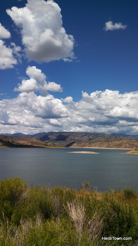 Blue Mesa Lake near Gunnison, Colorado. HeidiTown.com