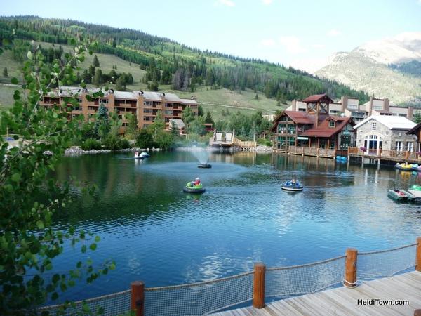 Lake at Copper Mountain, Colorado. HeidiTown.com