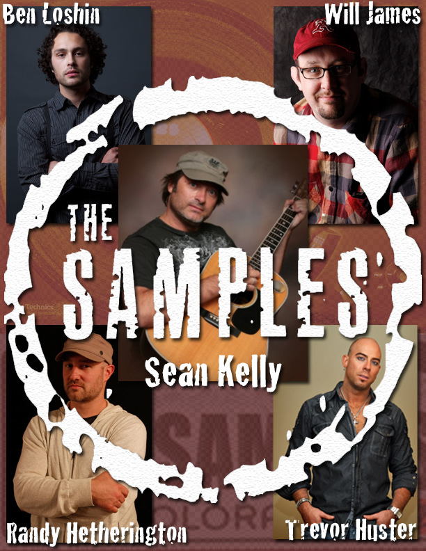 The Samples band poster