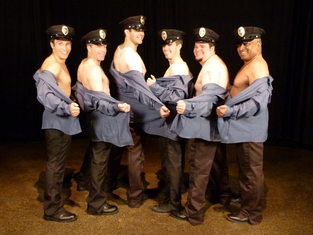 Full Monty at Boulders Dinner Theater