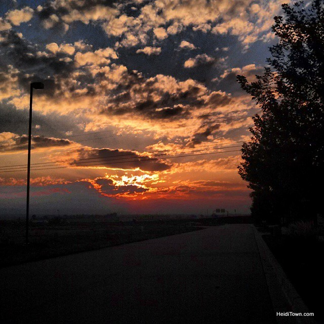 Colorado Sunsets HeidiTown.com