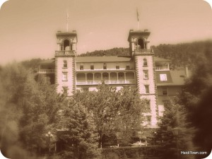Hotel Colorado sepia by HeidiTown.com